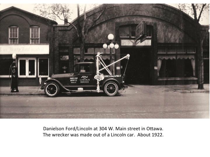 Danielson Motors Model T Ford Dealer In Ottawa Illinois